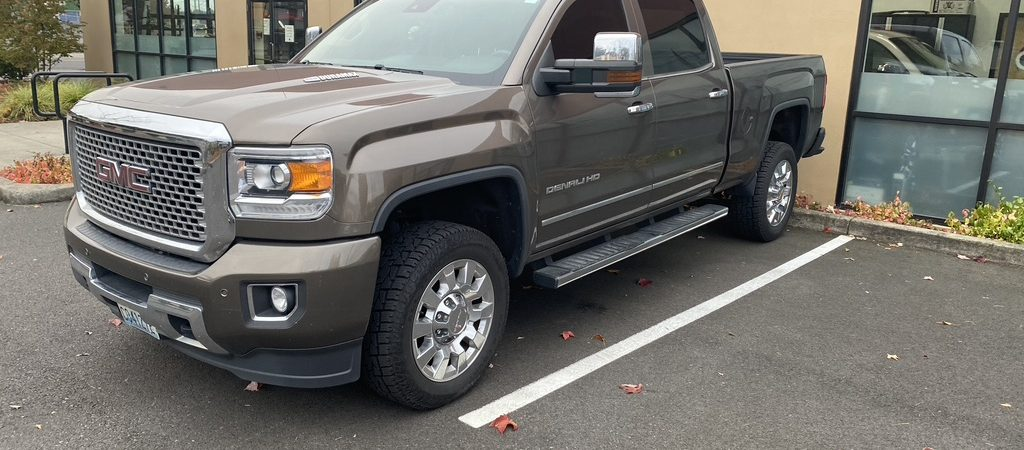 Project of the Month | 2016 GMC Sierra