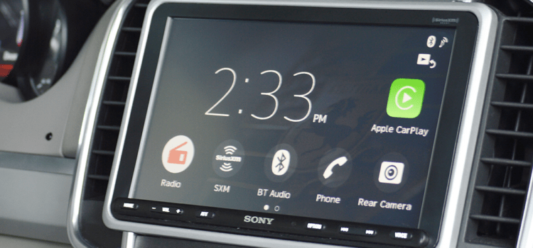 8.95 Inches of Touchscreen in a 7-inch Dash