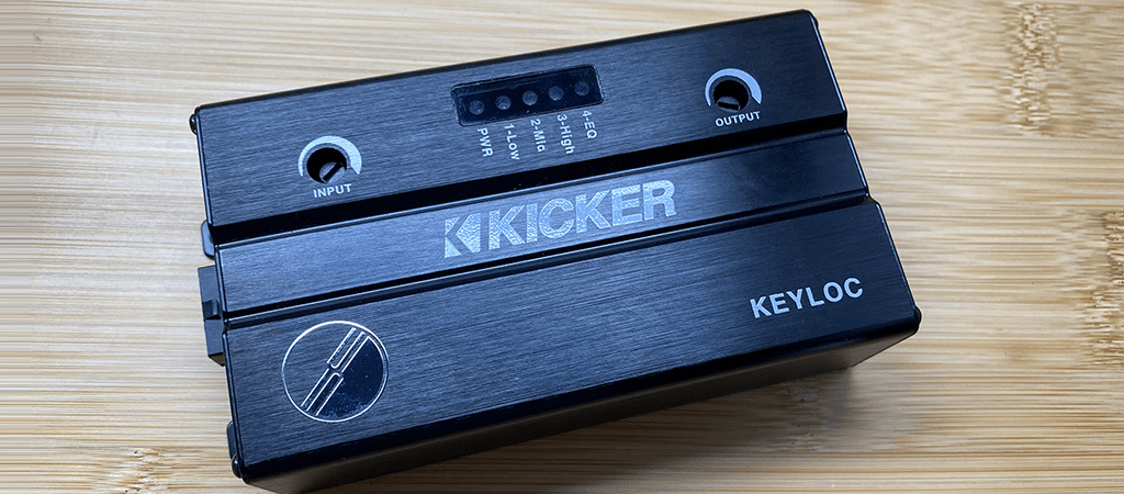 Product Review   Kicker KEYLOC